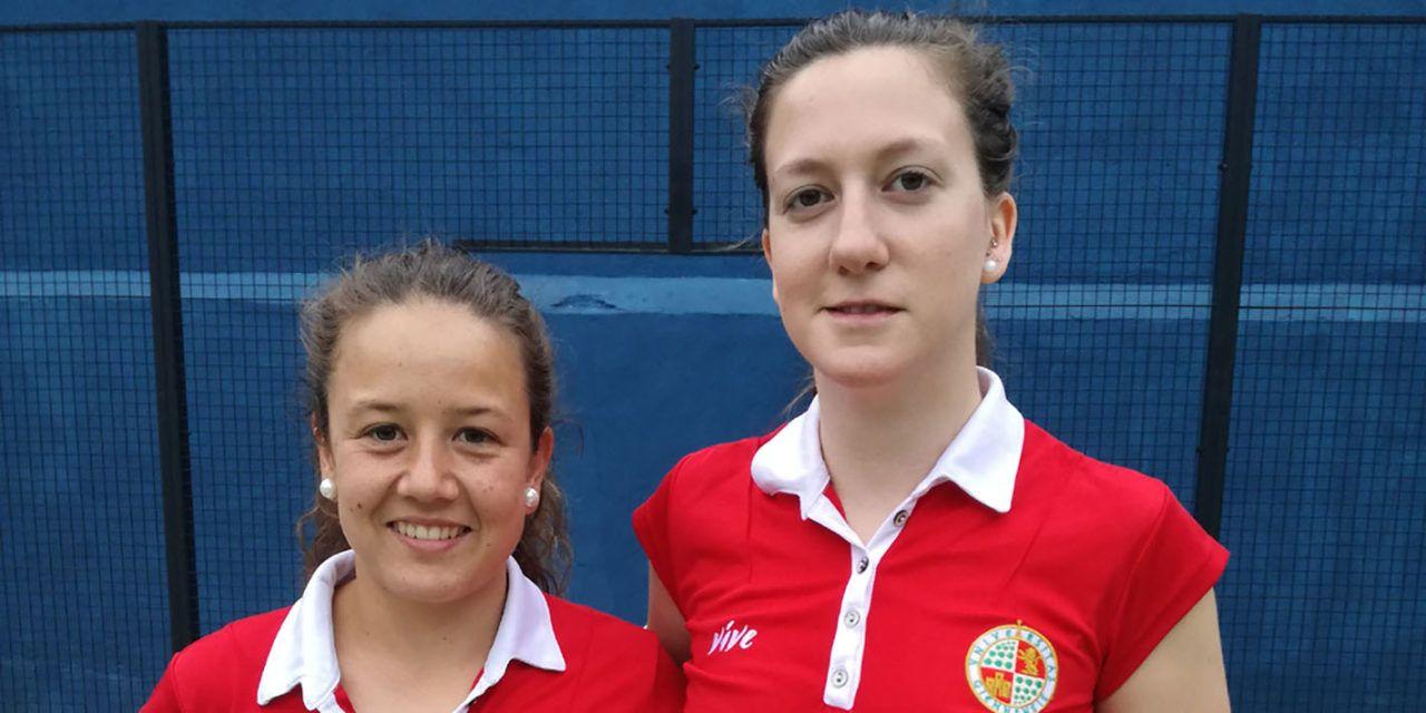 Marta Porras y Nuria Cobo consiguen la medalla de bronce en el CEU de Pádel celebrado en Jaén