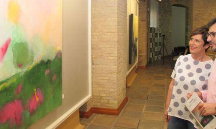 Las salas de exposiciones de la Diputación acogen hasta el 20 de julio 60 obras de la artista Soledad Flores