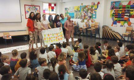 El CEIP Gloria Fuertes muestra los trabajos de su escolares durante la segunda edición de su II Semana Cultural