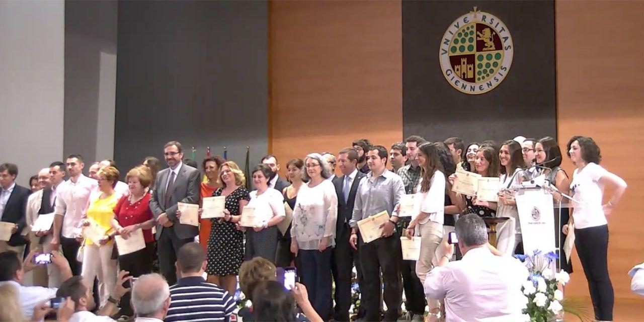 La UJA reconoce a los mejores Trabajos Fin de Máster de 2017, año en el que se presentaron más de 1.000