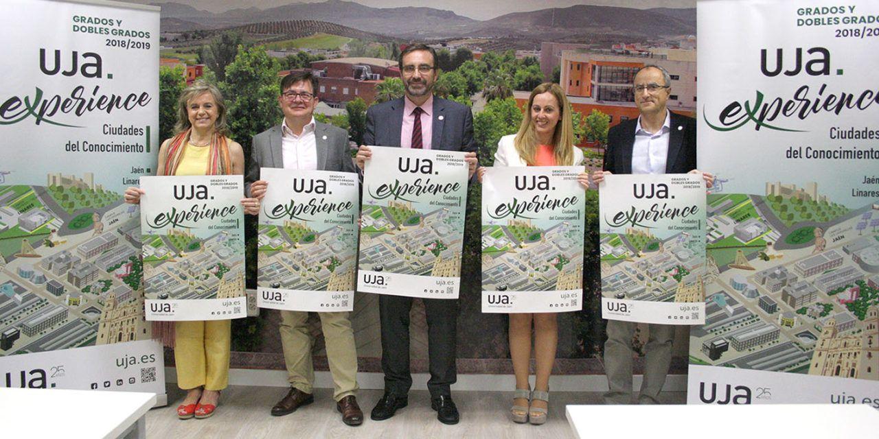 La UJA incrementa su oferta de titulaciones de Grados con cuatro nuevos dobles Grados para el próximo curso 2018/2019