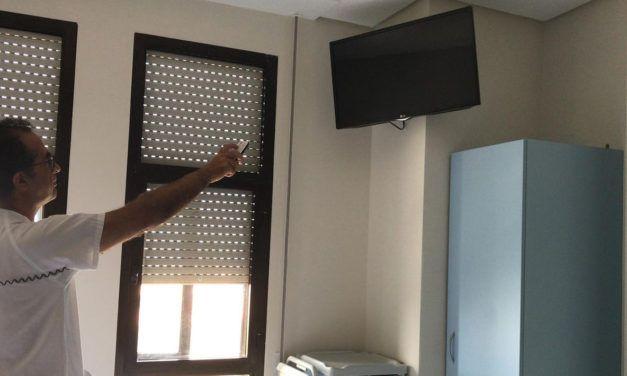 El Hospital de Úbeda ofrecerá servicio gratuito de televisión en septiembre