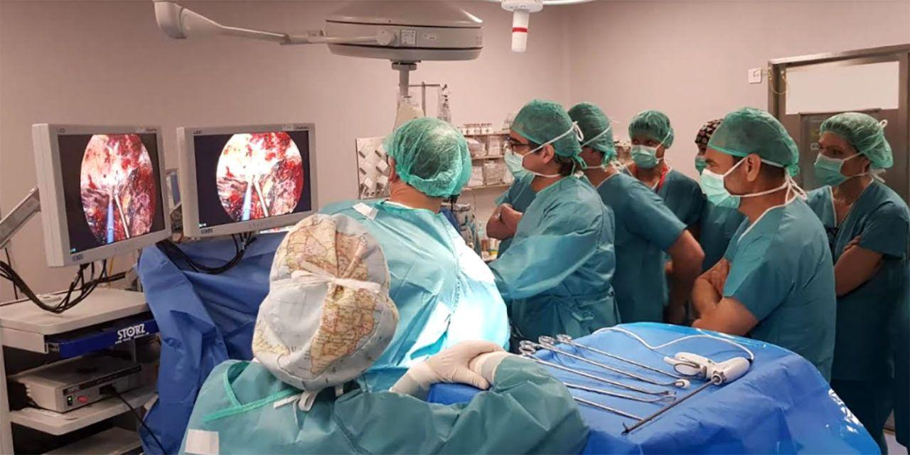 El Complejo Hospitalario de Jaén organiza unas jornadas de formación para profesionales sanitarios andaluces del servicio de cirugía torácica