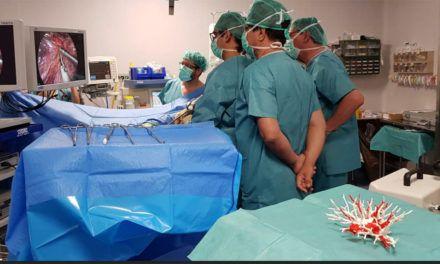 El Complejo Hospitalario de Jaén alberga unas jornadas de formación para profesionales sanitarios andaluces del servicio de cirugía torácica