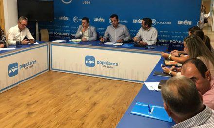 """Requena: """"El PP de Jaén está listo para un posible adelanto electoral y acabar con 40 años de socialismo"""""""