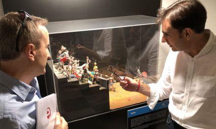 Los Baños Árabes acogen una exposición sobre la Historia de la Humanidad realizada en plastilina