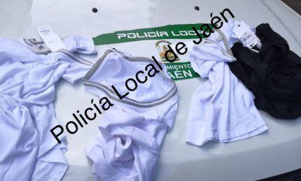 Policía Local ha detenido a una pareja tras robar en un establecimiento de ropa