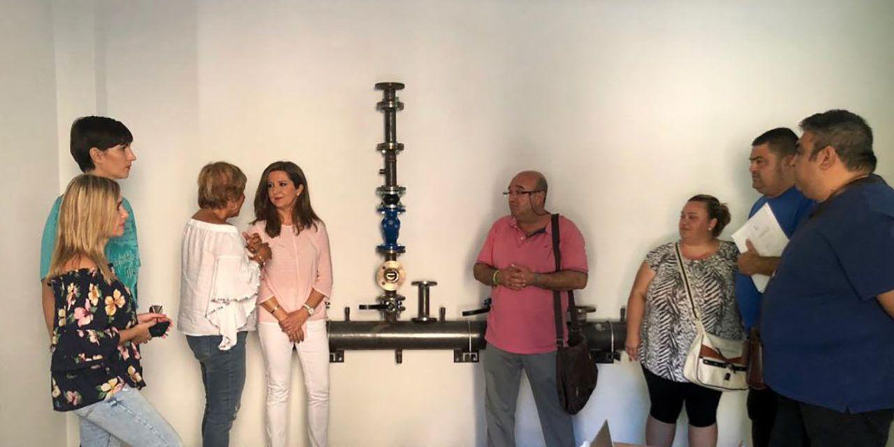 """Educación mejora la climatización del CEIP """"Santo Domingo"""" de Jaén con la adecuación integral de la sala de calderas y sus equipos"""