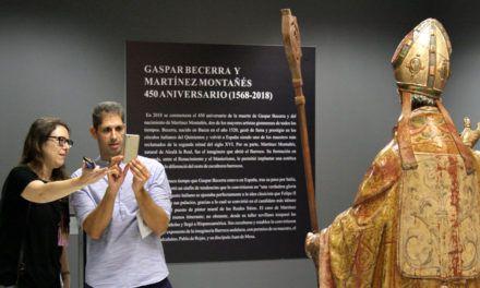 La Universidad de Jaén muestra dos esculturas de Gaspar Becerra y Martínez Montañés, en la Antigua Escuela de Magisterio