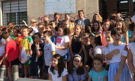 El CEIP ´Cándido Nogales´de Jaén suma un nuevo camino escolar seguro que favorece los trayectos a pie