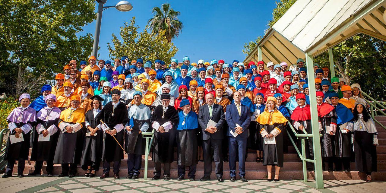El Rector destaca la evolución y progreso de la UJA en sus 25 años de existencia en el acto académico de inauguración del curso 2018/2019
