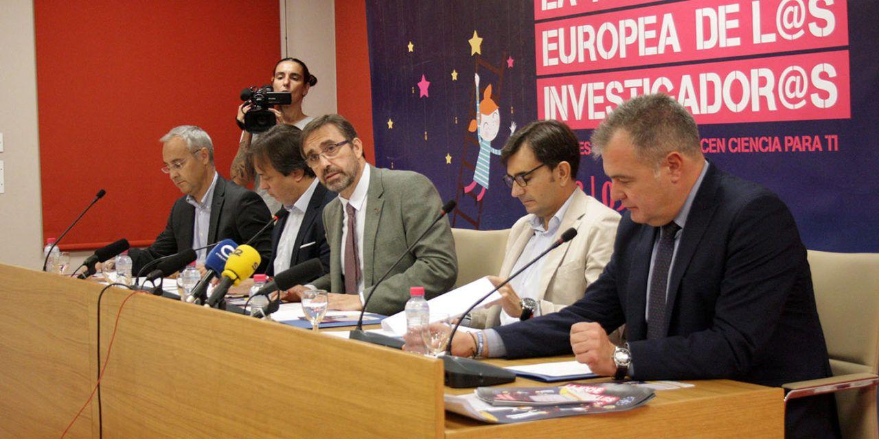 Más de 200 científicos de la UJA participarán el próximo 28 de septiembre en la octava edición de 'La Noche Europea de los Investigadores' en Jaén