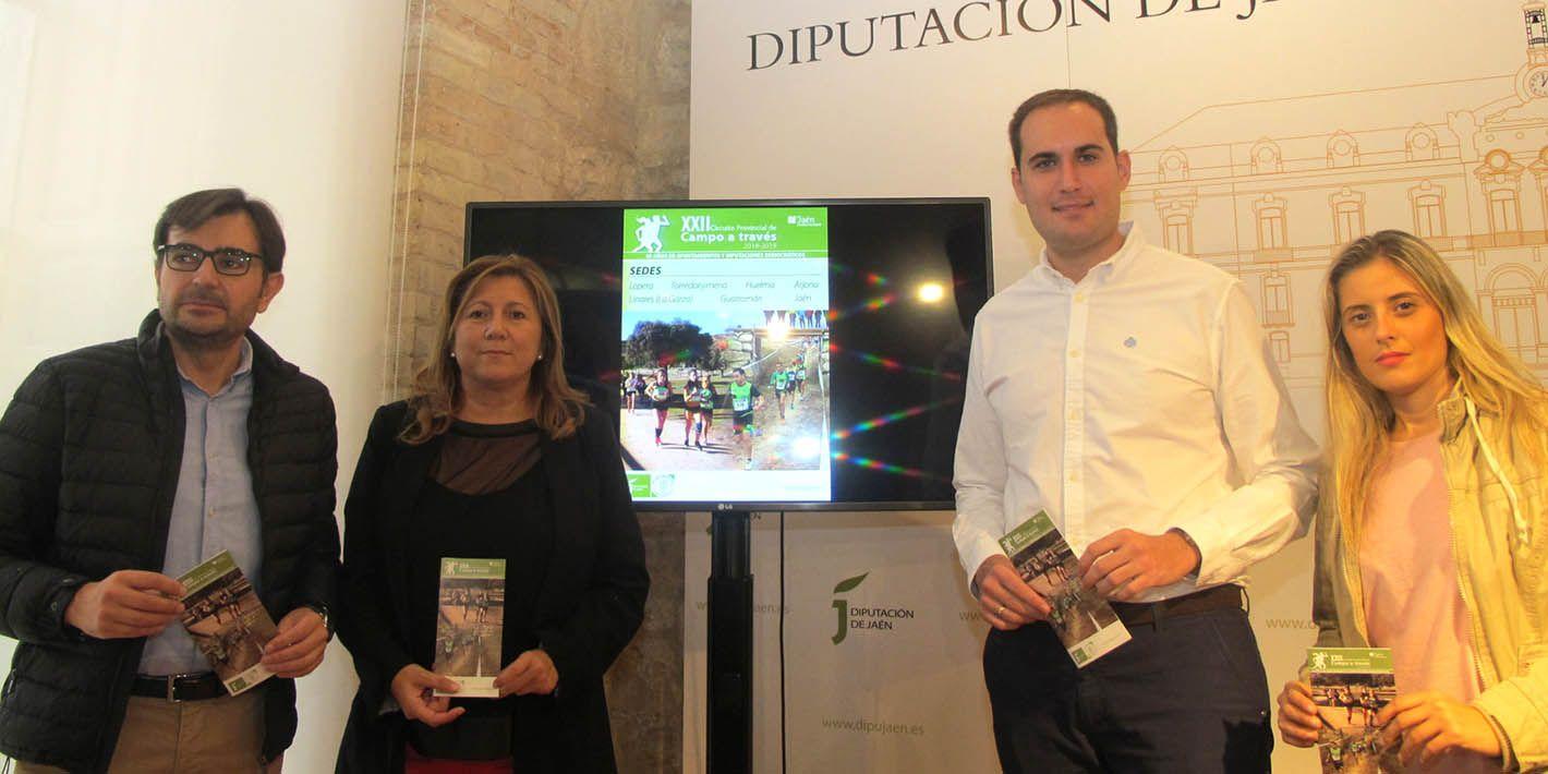 Linares volverá a tener parada en el XXII Circuito Provincial de Campo a Través de la Diputación