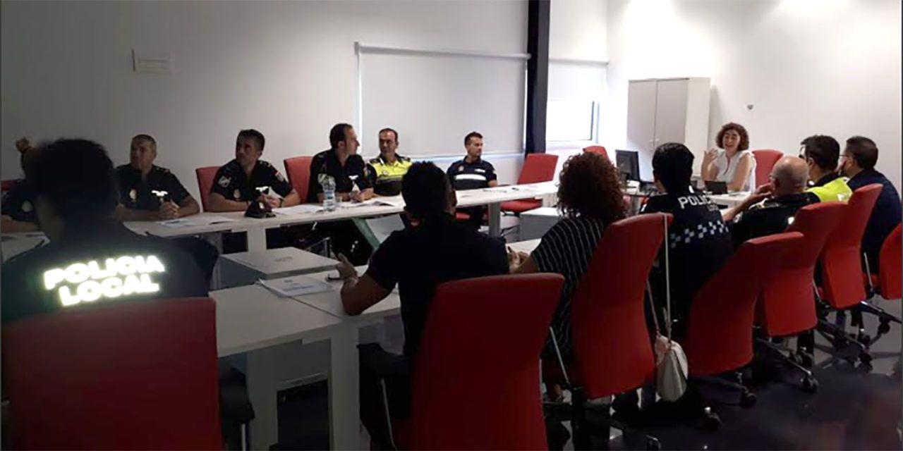 Policías Locales de Jaén se forman en procedimientos e intervención en supuestos de violencia de género