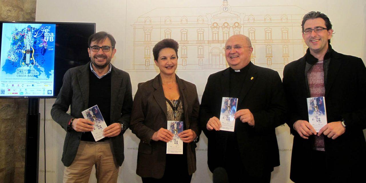 El ciclo 'La música en los monumentos de Vandelvira' tendrá parada en Úbeda