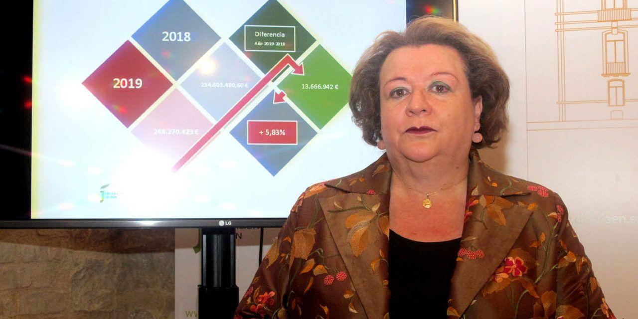 Los presupuestos de Diputación para 2019 superarán los 248 millones de euros
