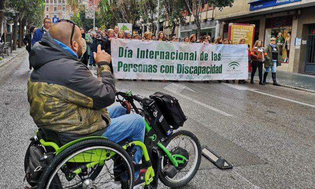 Más de 300 participantes en Jaén en las actividades  del Día Internacional de las Personas con Discapacidad