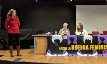 Encuentro entre mujeres de Jaén y la fiscala contra violencia de género Gracia Rodríguez