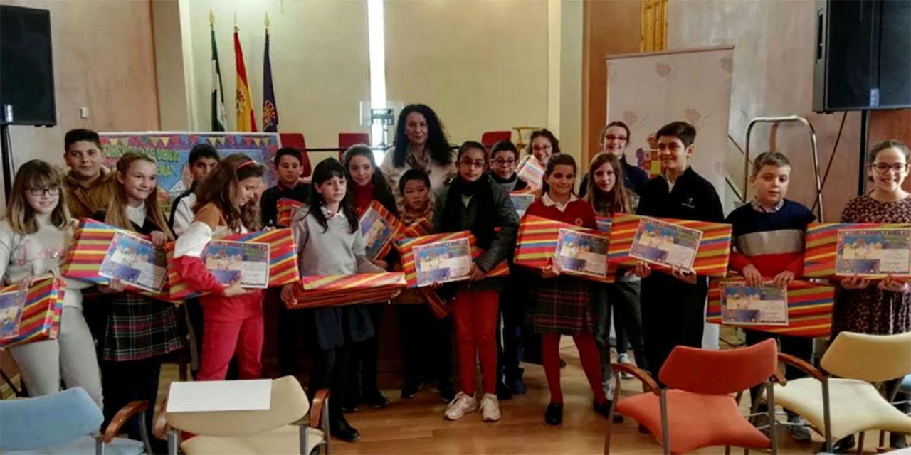 Éxito de participación en el concurso escolar de dibujo 'Nuestra Feria '18'