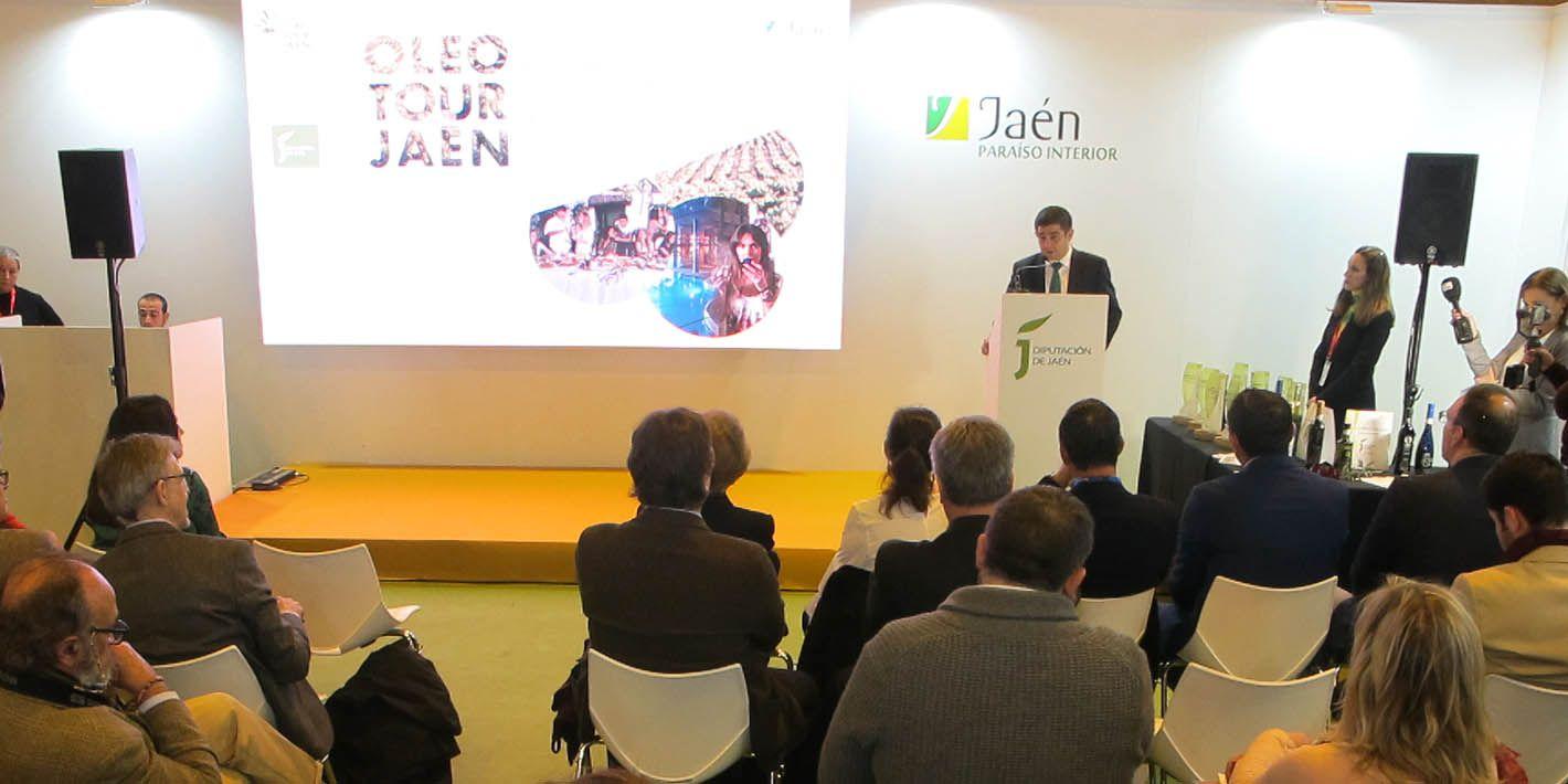 FITUR | Diputación realiza un nuevo audiovisual para dar a conocer al viajero el cultivo del olivar y cómo se elabora el aceite