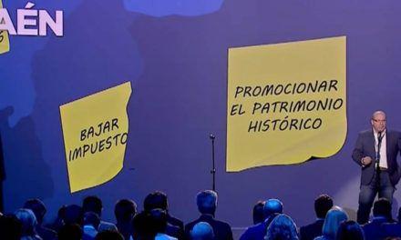 """Javier Márquez muestra su """"orgullo"""" por ser el alcalde de Jaén y afirma que uno de sus grandes objetivos será """"promocionar nuestro patrimonio histórico"""""""