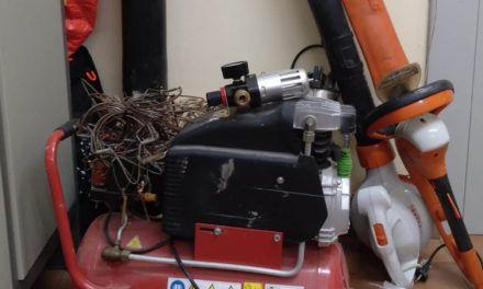 SUCESOS | Tres detenidos sorprendidos cuando descargaban efectos robados