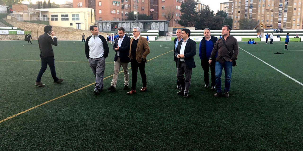 75.000 euros para la adecuación del campo de fútbol Sebastián Barajas de Jaén