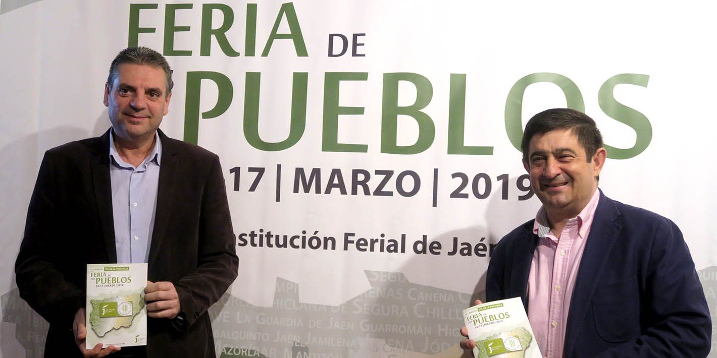 La 'VI Feria de los Pueblos' volverá a ser el gran escaparate de los 97 municipios de Jaén