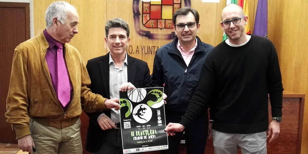 Presentado el II Duatlón 'Ciudad de Jaén'