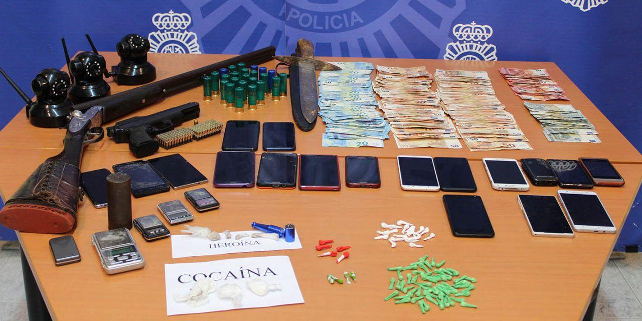 SUCESOS | Desmantelado tres puntos negros de venta de drogas en Jaén