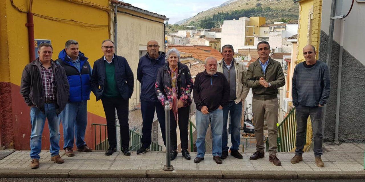 Comienzan las obras de adecuación del saneamiento de la calle Virgen Blanca