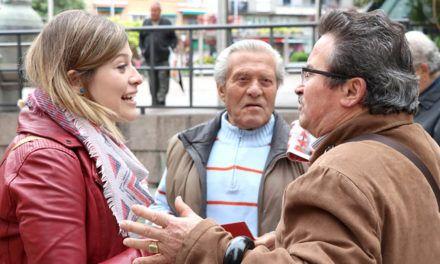 """Berja hace un llamamiento a mujeres, jóvenes y pensionistas desde Jaén: """"Avanzar tiene las siglas del PSOE; retroceder tiene las siglas de PP, C's y Vox"""""""