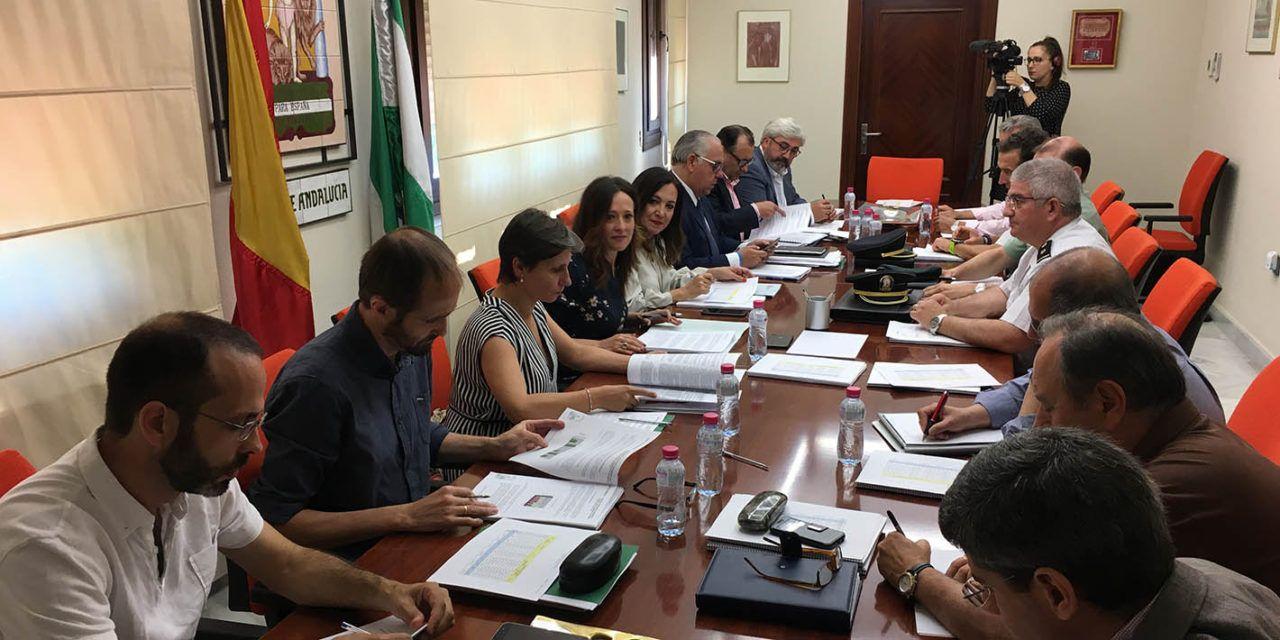 817 profesionales contra el fuego en Jaén dentro del Plan Infoca