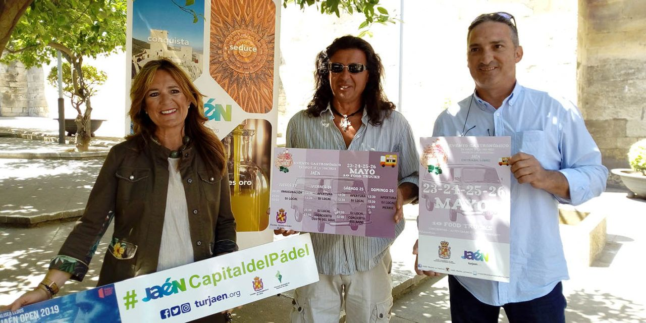 Jaén albergará '10 Food Trucks' en el Paseo de las Bicicletas desde el 23 al 26 de mayo