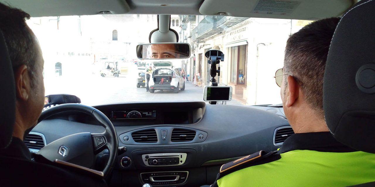 Jaén estrena dispositivos de movilidad para el control de tráfico por parte de la Policía Local