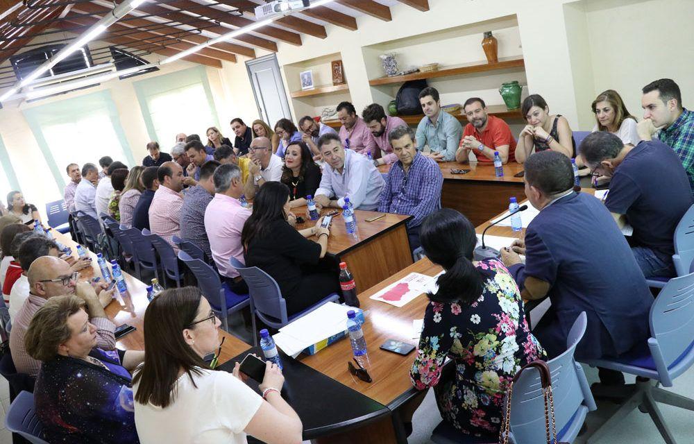 Reyes: «En la legislatura 2019-2023, los socialistas nos vamos a dedicar a cumplir los compromisos que hemos adquirido»
