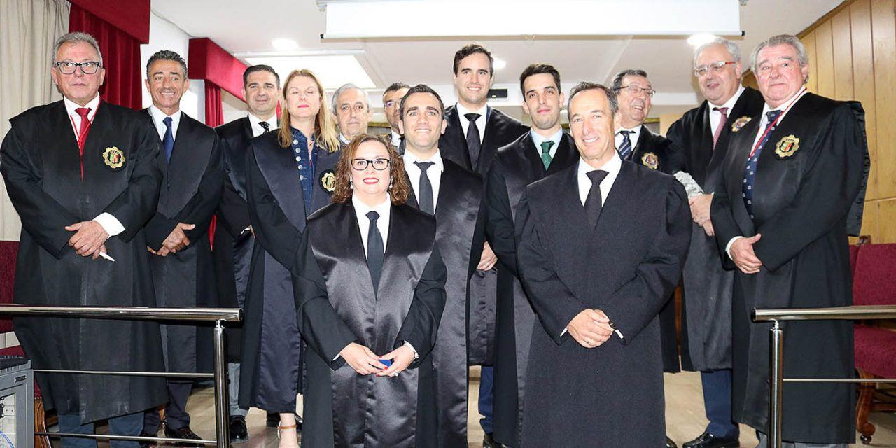 Once nuevos letrados forman parte desde hoy del Colegio de Abogados de Jaén