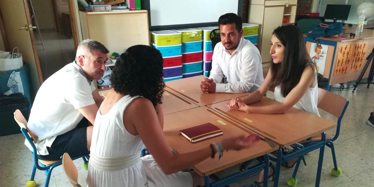 Mónica Moreno destaca que 1.540 alumnos jienenses se beneficiarán de productos locales en sus comedores escolares