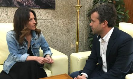 Visita institucional de la delegada del Gobierno al Ayuntamiento de Jaén