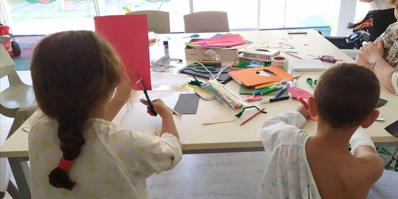 Más de 330 niños han asistido durante este curso escolar al aula del Hospital Materno-Infantil de Jaén