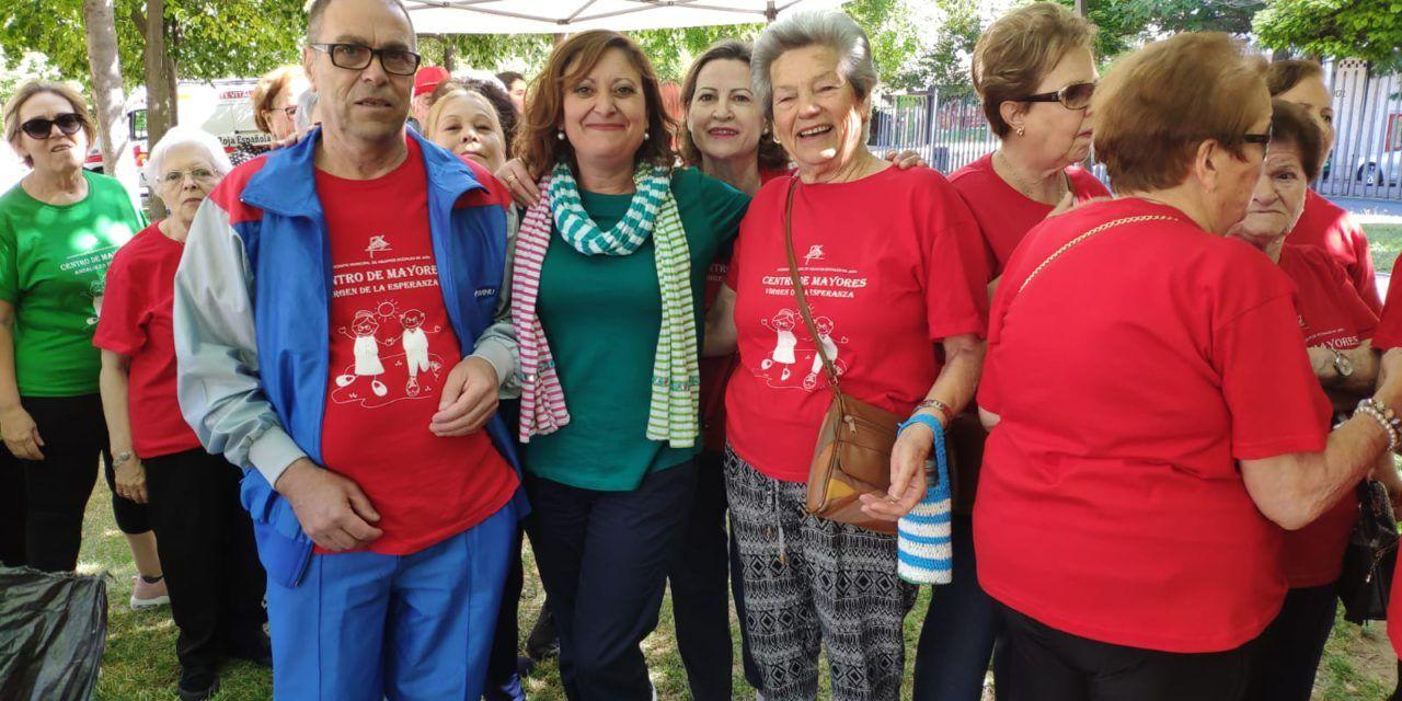 """Un centenar de mayores jiennenses disfrutan de una """"jornada saludable"""""""