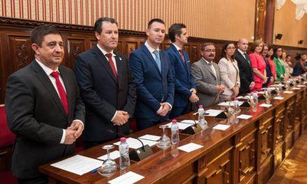 Nombrados los responsables de las áreas del equipo de Gobierno de la Diputación de Jaén