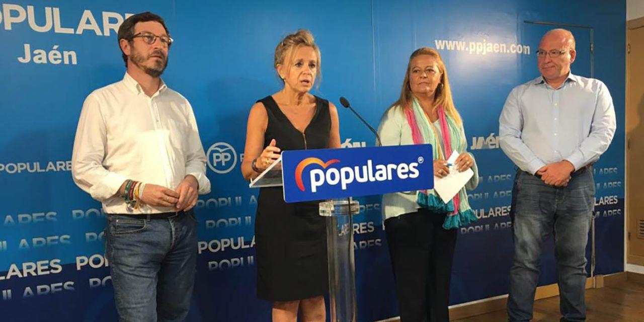 El PP de Jaén apela a la unidad de todas las fuerzas política para acabar con el aislamiento ferroviario