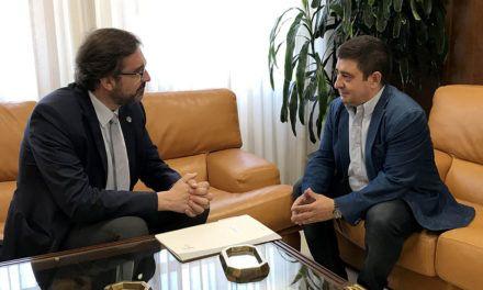 El Rector de la UJA y el presidente de la Diputación de Jaén coinciden en que ambas instituciones continúen colaborando en beneficio de la provincia