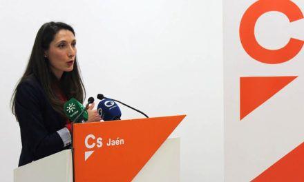 """Mónica Moreno (Cs): """"Hoy arranca una nueva etapa para los autónomos jienenses gracias a un Gobierno andaluz que cree en ellos"""""""