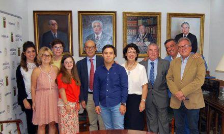 Jóvenes de la Asociación Síndrome de Down hacen prácticas en el Colegio de Abogados de Jaén