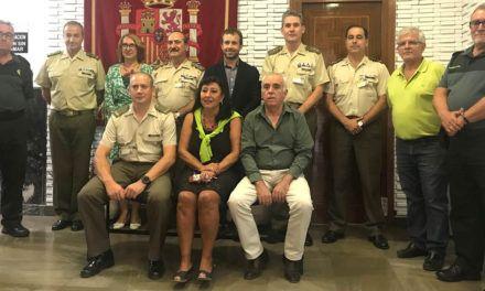 Millán destaca la colaboración y la labor de difusión de la Delegación de Defensa en Jaén