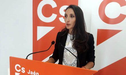 """Mónica Moreno: """"Cs defiende que Jaén mantenga su Cámara de Comercio pero siguiendo los procedimientos legales"""""""