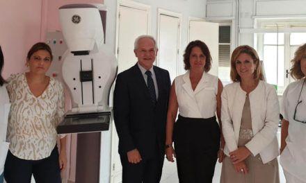 El distrito sanitario Jaén- Jaén Sur cuenta con un nuevo mamógrafo