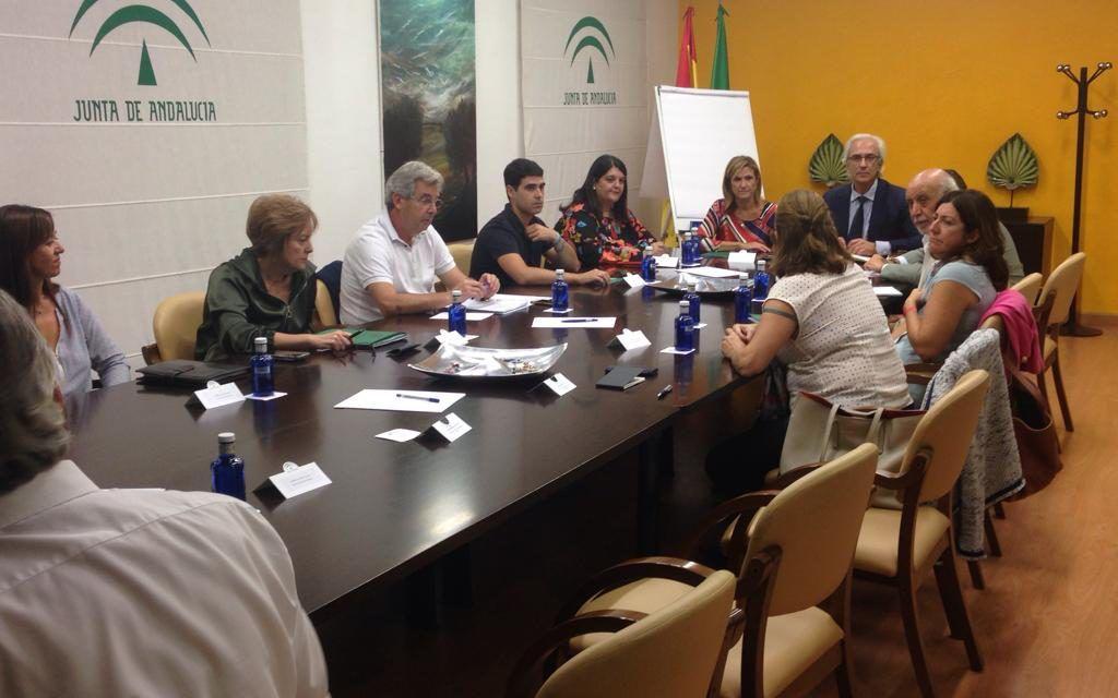 La delegación de Salud y Familias en Jaén presenta a la gerencia del SAS el plan para mejorar las  infraestructuras en la provincia